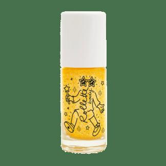 body rollette jaune or doré nailmatic